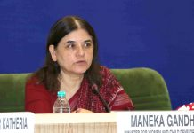 File photo of Women and Child Development minister Maneka Gandhi | Facebook