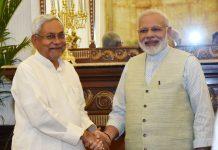 Nitish Kumar joins the BJP