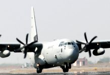 The C130J aircraft (for representational purposes) | Source: Ministry of Defence