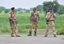 CISF jawans deployed at Rohtak | Nayanika Chatterjee/ ThePrint