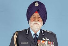 Arjan Singh was the only five-star officer in the history of the Indian Air Force