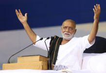 A file photo of Morari Bapu