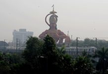 Delhi HC suggestion to airlift 108ft Hanuman statue revives debate on encroachments