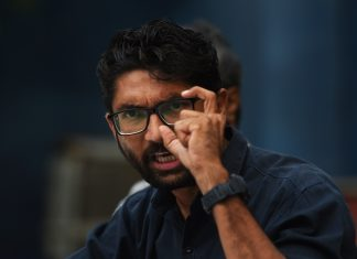 A file photo of Dalit leader Jignesh Mevani