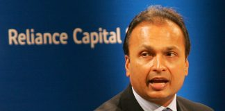 Anil Ambani at AGM of Reliance Capital in Mumbai on Tuesday | Anshuman Poyrekar/Getty Images