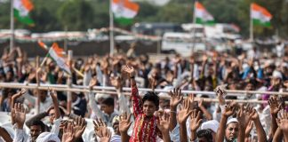 An election campaign rally in Gujarat, India | Kunal Patil/Hindustan Times via Getty Images