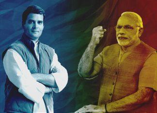Rahul Gandhi and Narendra Modi | Illustration by ThePrint
