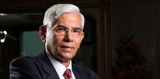 A photo of former CAG Vinod Rai