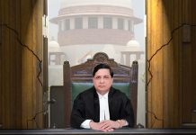 CJI infront of Supreme Court of India