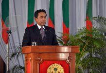 President of Maldives, Abdulla Yameen