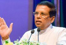 Sri Lanka's president Maithripala Sirisena | @MaithripalaS