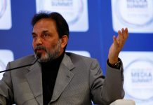 Prannoy Roy in Abu Dhabi
