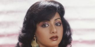 A photo of Sridevi taken in 1990.