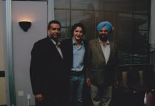 Jaspal Atwal (left) and Justin Trudeau | From Jaspal Atwal's Facebook page