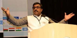 A file photo of Ram Madhav