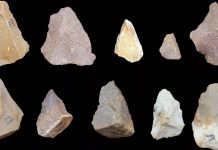 Some tools found in Attirampakkam, Tamil Nadu
