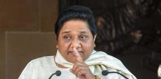 BSP supremo Mayawati addresses a press conference in Lucknow | PTI
