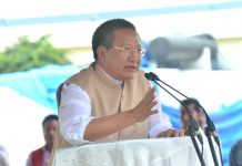 Nagaland State Chief Minister TR Zeliang in Indonesia on April 23