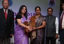 IPS Sangliana, with D Roopa and Nirbhaya's mother