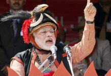 Narendra Modi in traditional Nagaland headgear | Twitter