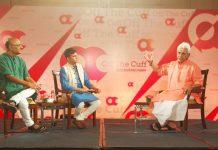 Manoj Sinha with Shekhar Gupta and Kumar Anshuman