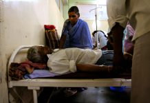 A man in a hospital in Maharashtra | Uriel Sinai/Getty Images