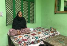Shakila Begum, the mother of Haseen Mota