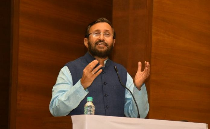 A file photo Prakash Javadekar | @PrakashJavdekar