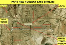 Pakistan Air Force's new base in Bholari, Sindh