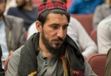 Manzoor Pashteen, the leader of the Pashtun Tahafuz Movement