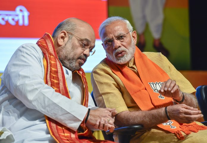 Amit Shah and Narendra Modi