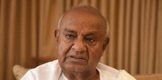 File photo of H.D. Deve Gowda | Arijit Sen/Hindustan Times via Getty Images