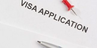 Representational image of visa application form | Pride Immigration Law Firm PLLC