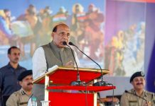File photo of Home Minister Rajnath Singh | PTI