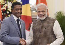 Prime Minister Narendra Modi with Seychelles President Danny Antoine Rollen Faure | PTI
