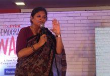 Archana Kapoor at Democracy Wall, Mumbai | theprint.in