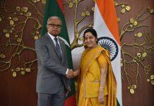 Sushma Swaraj Mohamed Asim
