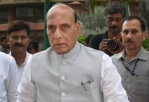 Home minister Rajnath Singh in New Delhi | PTI