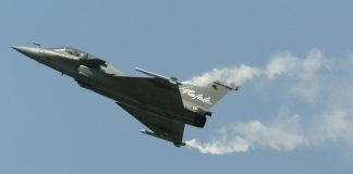 Rafale fighter aircraft of Dassault Aviation company at Paris Air Show | Pascal Le Segretain/Getty Images