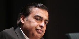 Mukesh Ambani, chairman and managing director of Reliance Industries Ltd.