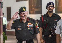 Army chief Genral Bipin Singh Rawat at Parliament House | PTI