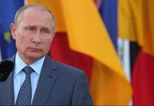 Russian president,Vladimir Putin, ~Krisztian Bocsi/Bloomberg