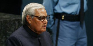File photo of former Prime Minister Atal Bihari Vajpayee in 2003 | Mario Tama/Getty Images