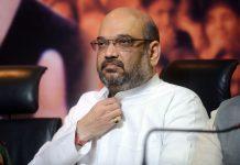 Bharatiya Janata Party president Amit Shah | RAVEENDRAN/AFP/Getty Images