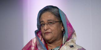 Prime Minister of Bangladesh Sheikh Hasina | Oli Scarff/Getty Images)