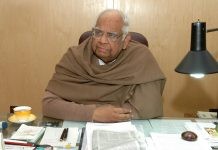 File photo of Somnath Chatterjee at his office in New Delhi, India | Ravi S Sahani/The India Today Group/Getty Images