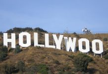 The Hollywood icon in California