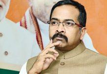 Telangana BJP spokesperson Krishna Saagar Rao | Twitter