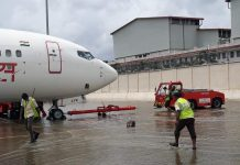 Image of flooded Cochin airport | By special arrangement