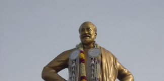 Statue of Sivaji Ganesan in Chennai | Commons